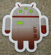 "ANDROID DROID Triclops robot logo Sticker 2.5"" Google andrew bell"