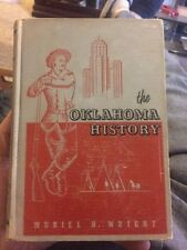 The Oklahoma History By Muriel H Wright 1955 Collectible Indian Midwest Plains