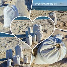 10x12 inches Cloth Muslin Drawstring Bags , Art Craft Bags,Sale Qty 25 / 50 /100