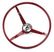 Mustang Steering Wheel Standard Colored 1967 Red - KSI