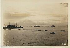 Aerial Photo of 40th Division US invasion fleet landing at Lingayen Gulf Luzon