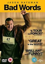 Bad Words Jason Bateman, Kathryn Hahn, Rohan Chand BRAND NEW & SEALED UK R2 DVD