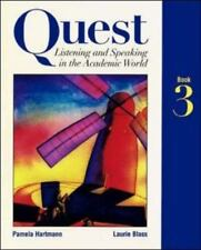 Quest: Listening and Speaking in the Academic World, Book 3