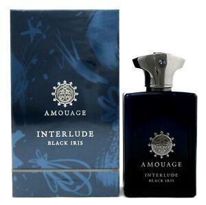 Amouage Interlude Black Iris Man Cologne 3.4 oz. EDP Spray for Men New in Box