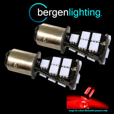380 BAY15D 1157 XENON RED 21 SMD LED DRL SIDELIGHT SIDE LIGHT BULBS SLD201601