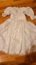Bride Dress Up Costume Wedding Dress Girl Size 6-7