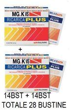 MG.K VIS Ricarica Plus +energia- zero zuccheri- 14 bustine + OMAGGIO 14 BUSTINE