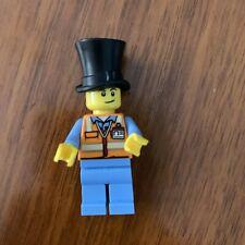 Lego 2 X Figure Minifigure City Man Builder Construction worker con001