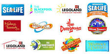 2 X FREE ADULT ENTRY VOUCHERS ALTON LEGOLAND MADAME TUSSAUD DUNGEON LONDON EYE