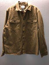 Goodfellow & Co- Men's Button Up L/S Shirt- Khaki/533629- Size XL- New!