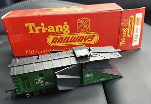 Tri-and RAILWAYS  R138 SNOW PLOUGH  TR53427 COMPLETE in Original Box.