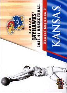 2013 Upper Deck Kansas Jayhawks Bk Cards (A5672) - You Pick - 10+ FREE SHIP