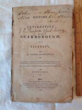 Antiquities Scarborough Thomas Hinderwell Rare Book