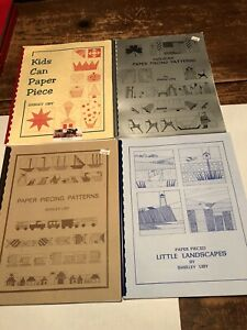 4 Paper Piecing Bks Shirley Liby Holiday Kids Can Paper Piecing Landscapes