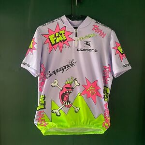 1992 Gioradana Team Fat Chance Cycling Jersey Vtg Yo Eddy MTB Race Retro 90s