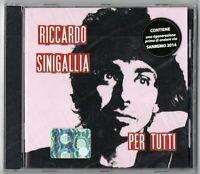 Audio Cd Riccardo Sinigallia - Per Tutti Cd Nuovo sigillato Sanremo 2014