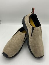 Merrell Jungle Moc Classic Taupe Slip On Loafers Casual Shoes Mens Size 11 Suede