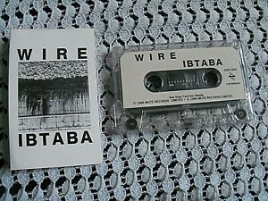 WIRE.ITS BEGINNING TO AND BACK AGAIN..LP.CASSETTE TAPE.,POST PUNK.INDIE.NEW WAVE
