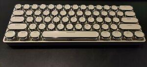 Rk61 Retro Steampunk Cap blue  RK Switch hotSwap RGB wireless/wired BT Keyboard