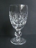 """WATERFORD CRYSTAL BOYNE 4¼"""" SHERRY GLASSES - SIGNED & FIRST QUALITY (Ref3198)"""
