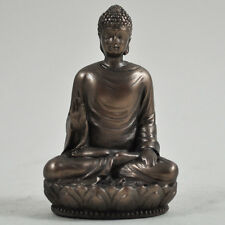FABULOUS SMALL COLD CAST BRONZE BUDDHA SITTING STATUE ORNAMENT NEW & BOXED