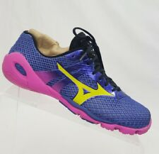 MIZUNO Wave EVO Levitas Purple Pink Barefoot Running Womens Shoes US 8.5 EUR 39
