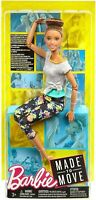 Made to Move Jointed Articulated Brunette Yoga Barbie Doll for OOAK
