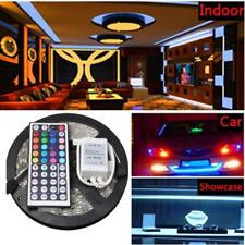 RGB SMD 5050 DC12V Waterproof IP65 LED Strip Light 300leds+44Key Remote control
