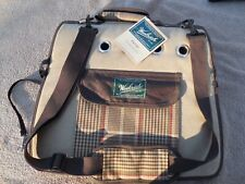 Woolrich Dog / Cat Tote Carrier Small Brown Plaid New