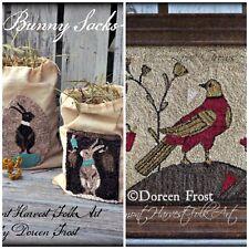 Vermont Harvest Folk Art Primitive Pattern by Doreen Frost - 2x