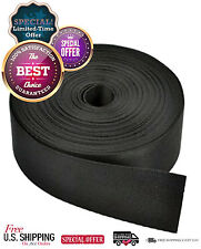 1 1/2 Inch Nylon Webbing Strap Black 10 Yard Strapping Roll Heavy Sewing Tool