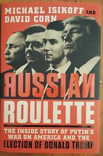 🚛Free Shipping! Hardcover NEW Book Russian Roulette Putin America Donald Trump