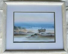 """Seascape Water Coloring by Virceff 14""""x11"""" Painting"""