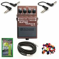 New Boss OC-3 Dual Super Octave Guitar Effects Pedal w/ Free Items*