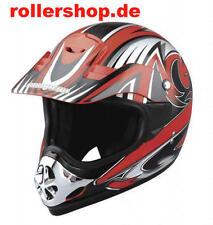Crosshelm Helm Madhead X1B, in XL, schwarz-rot