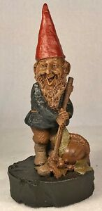 PUCK-R 1986~Tom Clark Gnome~Cairn Studio Item #1141~Edition #52~Story Included