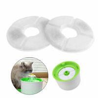 2x Filtro de reemplazo fuente agua mascotas para Catit Design Senses Cat Dog