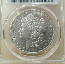 1884 S  MORGAN DOLLAR GRADED AU 50 BY PCGS!!!!!