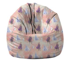 New Disney Frozen Bean Bag Cover Sofa Lounger Beanbag Sofa Girls Kids Toddlers
