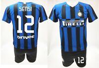 Maglia Sensi Inter 2020 + Pantaloncino ufficiale Completo 2019 Stefano 12