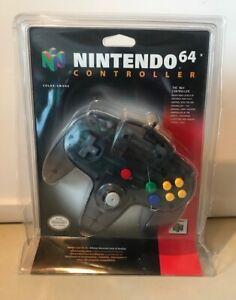 New/Sealed Smoke Funtastic N64 Controller TRU Blister nintendo 64 toys r us gray