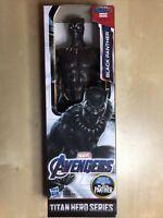 Marvel Avenger's BLACK PANTHER Titan Hero Series 12in Hasbro Action Figure *NEW*