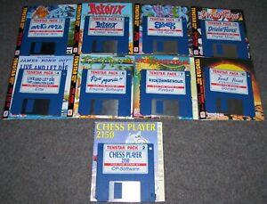 Atari 520 1040 ST STFM STE Mega Computer Tenstar Games Pack x 9 TESTED OK