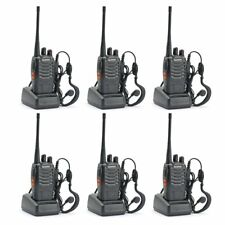 6PCS Baofeng BF-888S Two Way Radio Walkie Talkie Wireless Handheld UHF400-470MHz