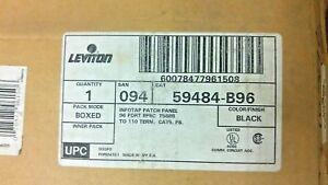 LEVITON 59484-B96 INFOTAP PATCH PANEL 96 PORT CAT5