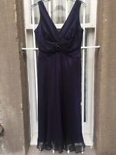 Purple Gown Petite Size 10 (with tags)