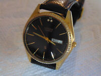 Citizen Model GN-4W-S:36mm 18K Ion-Plated Stainless Steel Quartz Watch L@@K!!!