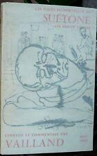 Les pages immortelles de SUETONE, Vailland, 1962,