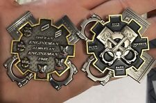 AWESOME US Navy ENGINEMAN Spinner Challenge Coin LARGE MUST LOOK