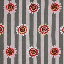 Kaffe Fassett Regency Stripe Cotton Fabric PWGP146 Grey Fall 2014 Collection BTY
